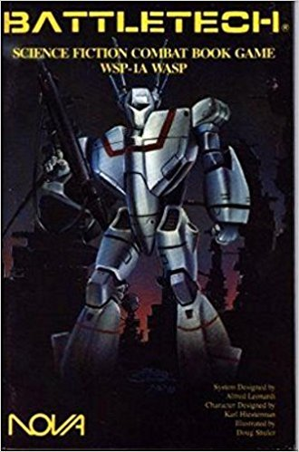 9780917037528: WSP-1A Wasp (Battletech: Science Fiction Combat Book Game)