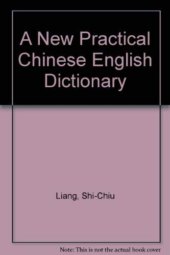 9780917056536: A New Practical Chinese English Dictionary