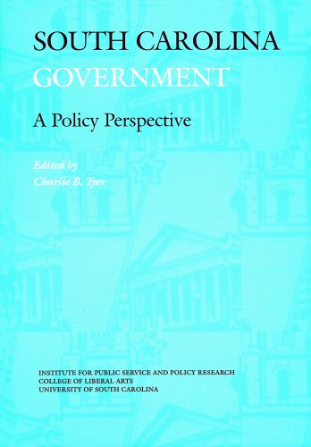 9780917069130: South Carolina Government: A Policy Perspective