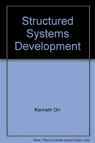 9780917072086: Structured Systems Development