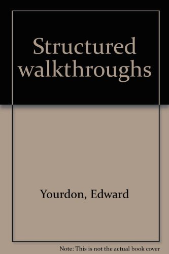 9780917072550: Structured walkthroughs