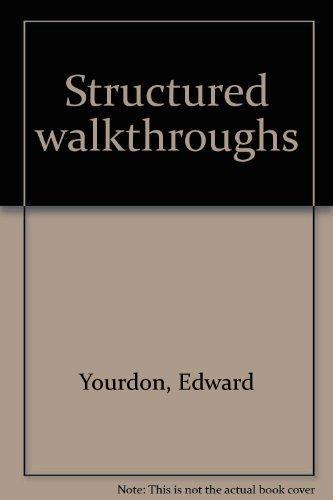 9780917072550: Structured walkthroughs