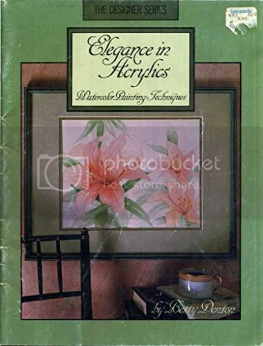 9780917121142: Elegance in Acrylics Watercolor Painting (The Designer Series/50- 101)