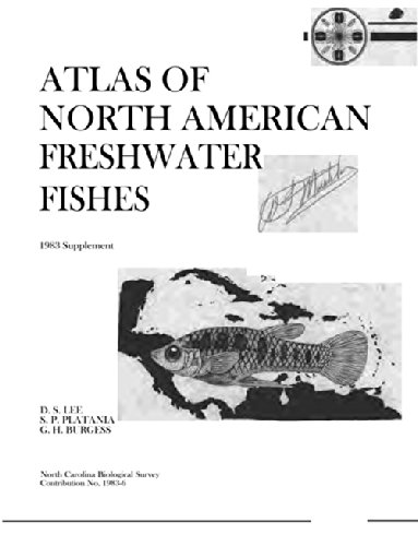 9780917134067: Atlas of North American Freshwater Fishes: 1983 Supplement (Occasional Papers of the North Carolina Biological Survey ; 1983-6)
