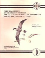 9780917134180: Potential effects of oil spills on seabirds and selected other oceanic vertebrates off the North Carolina coast (Occasional papers of the North Carolina Biological Survey)