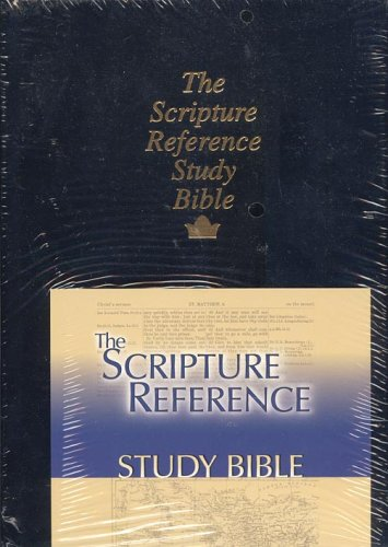 9780917145001: The Scripture Reference Study Bible - King James Version