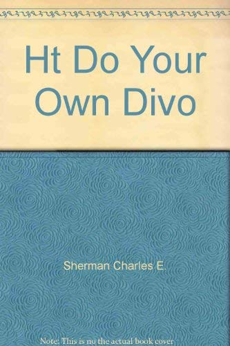 How to Do Your Own Divorce In Texas: Simons, Jim; Sherman, Charles, E.