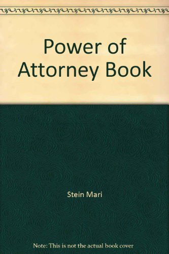 9780917316951: Power of Attorney Book