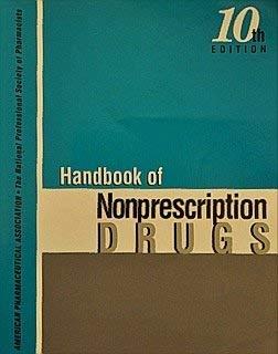 Handbook of Nonprescription Drugs and Product Updates: Edward G. Feldman
