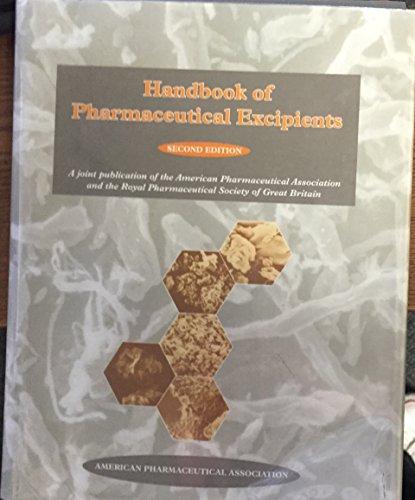 9780917330667: Handbook of Pharmaceutical Excipients