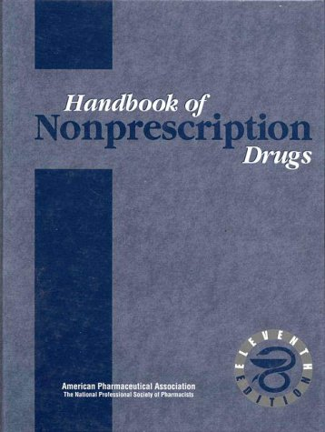 9780917330773: Handbook of Nonprescription Drugs