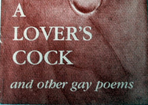 9780917342684: Lovers Cock and Other Gay Poems