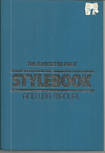 The Associated Press Stylebook and Libel Manual: ANGIONE, Howard