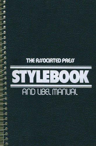 9780917360169: Associated Press Stylebook and Libel Manual (1998 Edition)