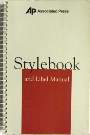 9780917360176: Associated Press Stylebook: And Libel Manual