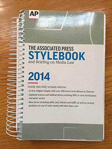 9780917360589: Associated Press Stylebook 2014