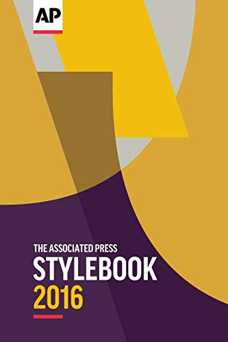 9780917360633: The 2016 Associated Press Stylebook and Briefing on Media Law