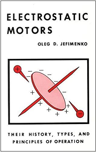 9780917406027: Electrostatic Motors: Their History, Types, and Principles of Operation