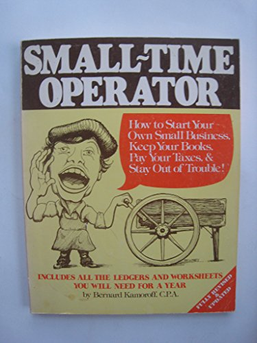 9780917510069: Small Time Operator