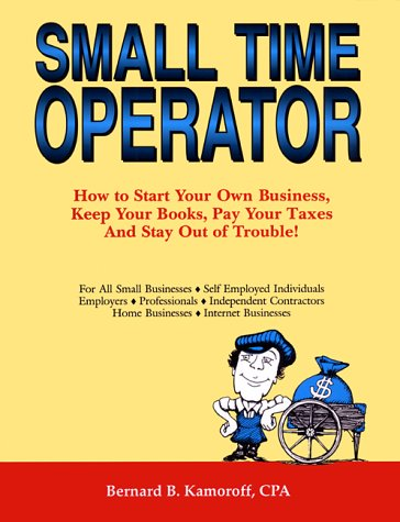 9780917510182: Small Time Operator