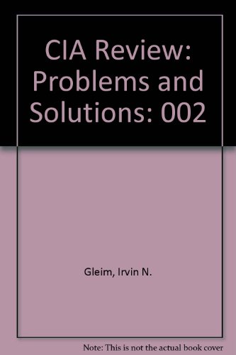 9780917537660: CIA Review: Problems and Solutions, Vol. 2