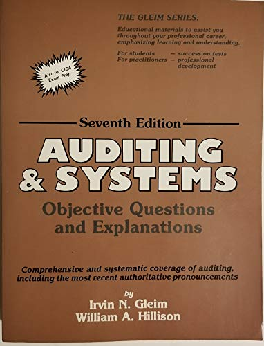 9780917539671: Auditing and Systems: Objective Questions and Explanations