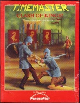 9780917609138: Clash of Kings! A Tale of Arthur and Merlin (A Timemaster Adventure)