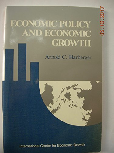 9780917616822: Economic Policy and Economic Growth