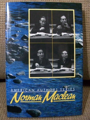 9780917652707: Norman MacLean (Confluence American authors series)