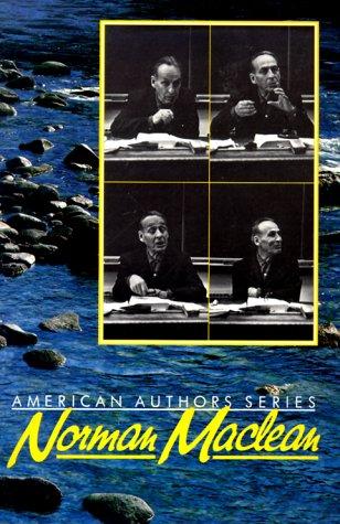 9780917652714: Norman Maclean (American Author Series)