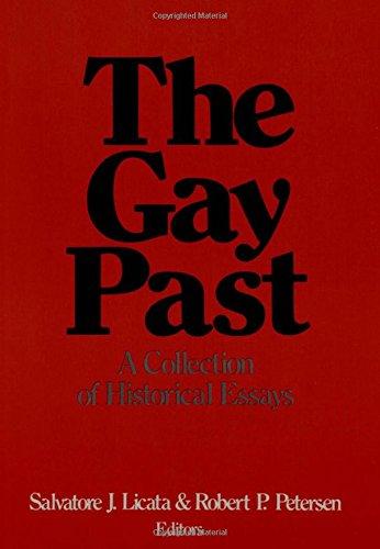 Historical Perspectives on Homosexuality: Licata, Salvatore; Robert P. Petersen