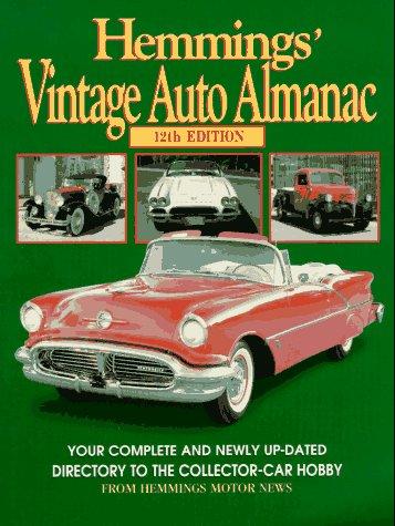 9780917808173: Hemmings' Vintage Auto Almanac (Hemmings' Collector Car Almanac)