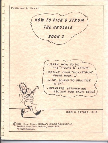 9780917822186: How to Pick and Strum the Ukulele, Book 2