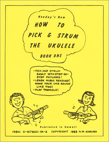 9780917822247: How to Pick and Strum the Ukulele: Book 1