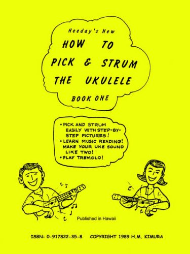 9780917822353: How to Pick & Strum the Ukulele: Volume One
