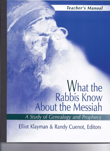 What the Rabbis Know About the Messiah: Elliot Klayman; Randy