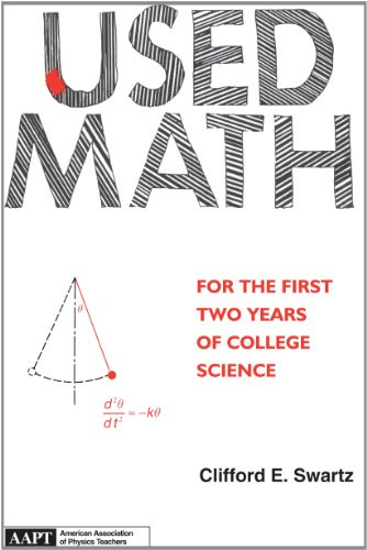 9780917853500: Used Math for the First Two Years of College Science