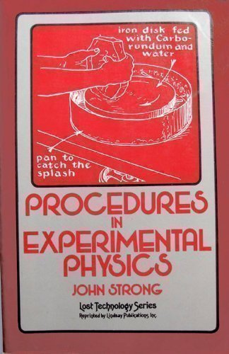 9780917914560: Procedures in Experimental Physics