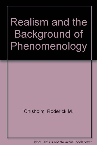 9780917930348: Realism and the Background of Phenomenology