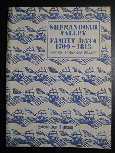 Shenandoah Valley Family Data 1799-1813 (Shenandoah genealogical source book): Braun, Johannes