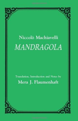 Mandragola: Niccolo Machiavelli