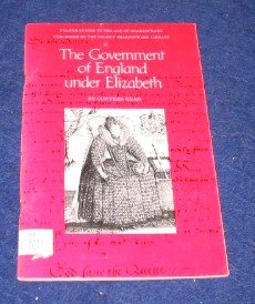 9780918016072: Government of England Under Elizabeth