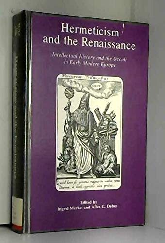 9780918016850: Hermeticism and the Renaissance (Folger Institute symposia)