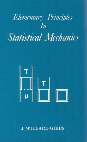 9780918024206: Elementary Principles of Statistical Mechanics