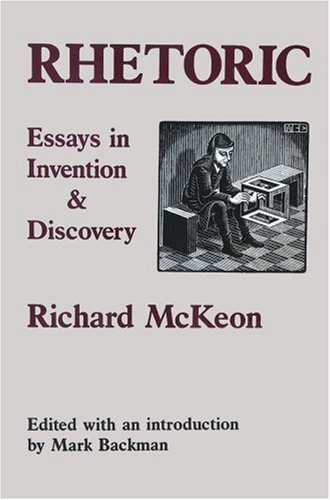 9780918024497: Rhetoric: Essays in Invention and Discovery