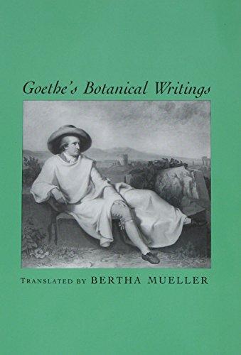 9780918024695: Goethes Botanical Writings