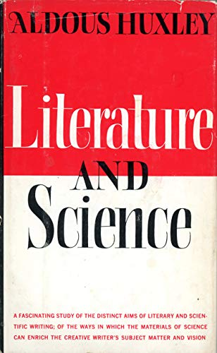 Literature and Science (0918024846) by Huxley, Aldous