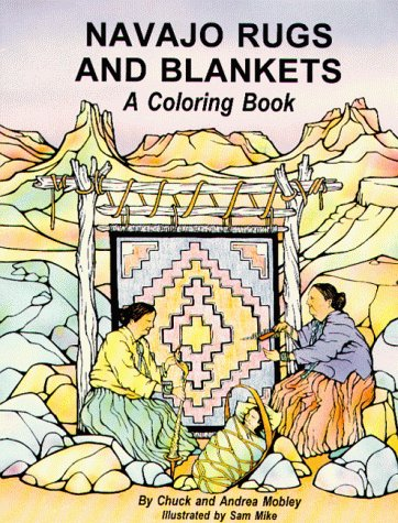 9780918080769: Navajo Rugs and Blankets: A Coloring Book