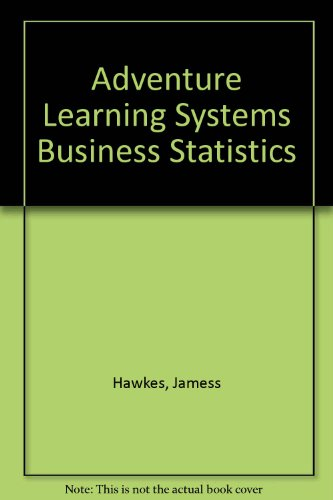9780918091338: Adventure Learning Systems Business Statistics