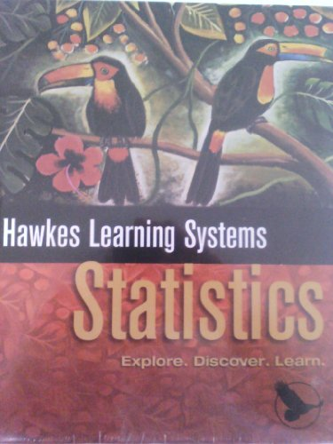 9780918091857: Hawkes Learning Systems Statistics (Esplore, Discover, Learn /HLS Statistics Bundle)
